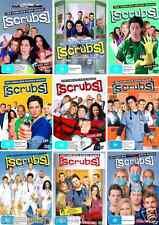SCRUBS Series COMPLETE COLLECTION Season 1-9 : NEW DVD