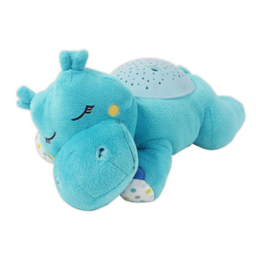 Summer Infant Slumber Buddy Hippo Nightlight Musical Soother Projector  Fast Del