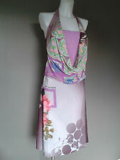 Save the Queen dress - BNWT - low back - stunning print - M/L