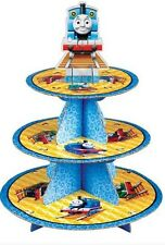 Thomas the Tank Engine Party Cake Tier Stand & Cup cake cases set