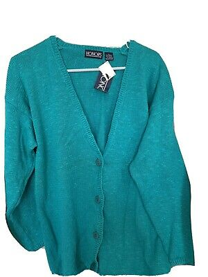 Mid Century No Button Cardigan US Size Small S