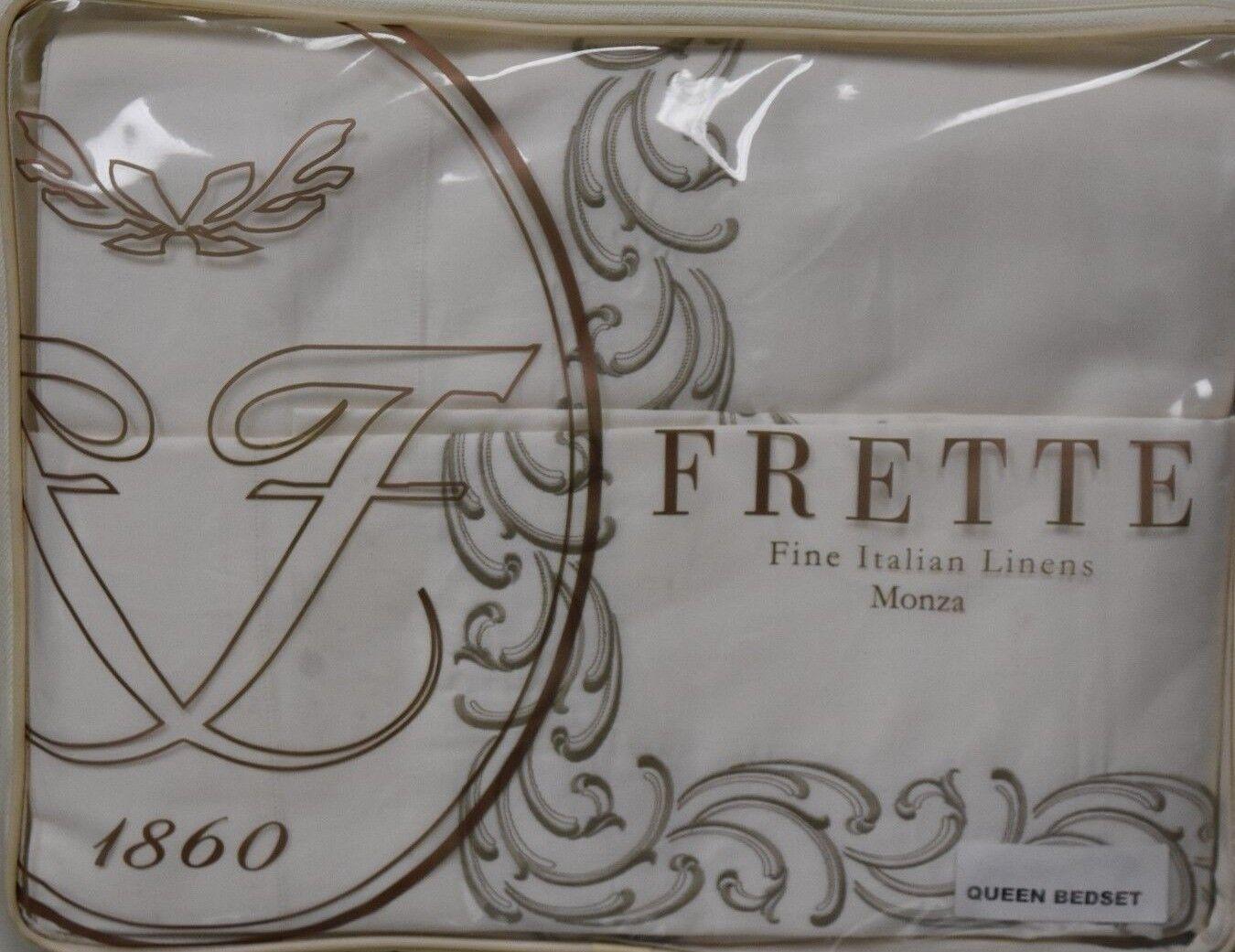 2750 Neu Frette Gotico Ricamo Balconnet Bestickt Bezüge Blatt Bett 4 Stück Set