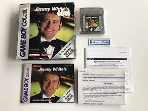 Jimmy-White-039-s-Cueball-Nintendo-Game-Boy-Color-GBC-PAL-EUR