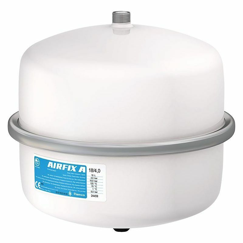 Ausdehnungsgefäß Trinkwasser Airfix A 12 Ltr., DN20 (3 4 ) Durchströmt