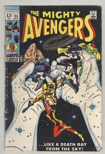 Avengers-64-May-1969-G-VG