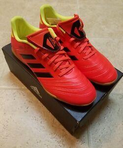 Sz 5 18 9 rojo Copa en Db2447 rojo color interior Zapatillas cuero Adidas 4 para hombre Tango Azq6axw