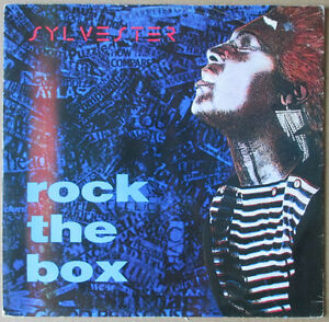 SYLVESTER-Rock-the-Box-1984-Electro-Italo-Disco-UK-Cooltempo-Maxi-Singolo