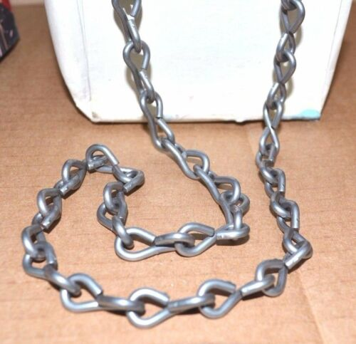 NEW Single STEEL Size 12 JACK CHAIN Bright 50 Ft Made in USA NOS NEW