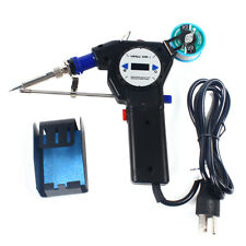 Electric Feed Soldering Iron Gun Set 110v Automatic Hand Held Welding Tool Kits