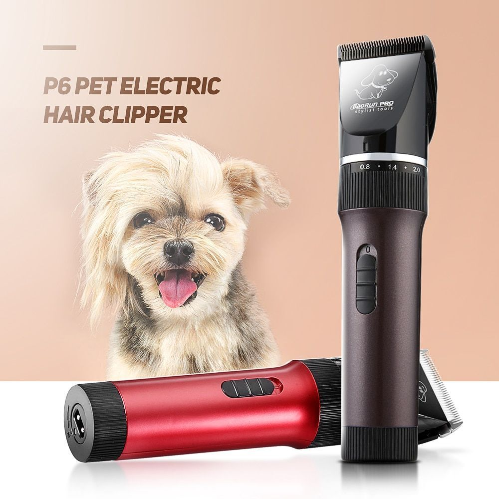 Professional Pet Electric Dog Hair Clipper Trimmer Rechargeable Cutter Scissor