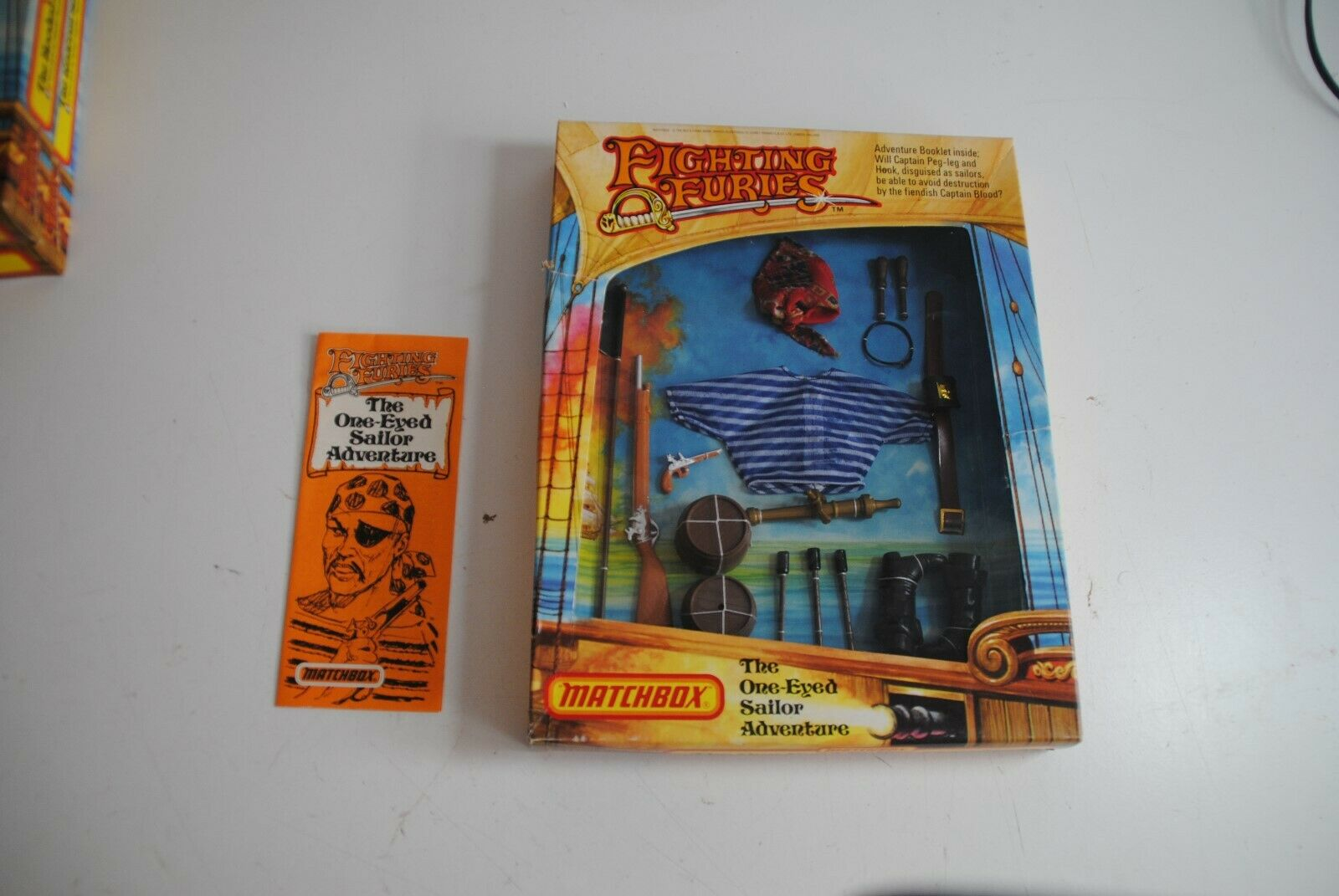 FIGHTING FURIES MATCHBOX   THE ONE EYED SAILOR  ADVENTURE  ' MIB  OUTFIT