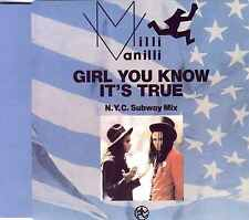 MILLI VANILLI - Girl you know it's true (NYC Subway Mix) 3TR CDM 1988 SYNTH POP