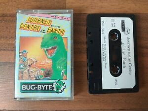 MSX-Game-Journey-to-the-Centre-of-the-Earth-Bug-Byte-partie-3-et-4