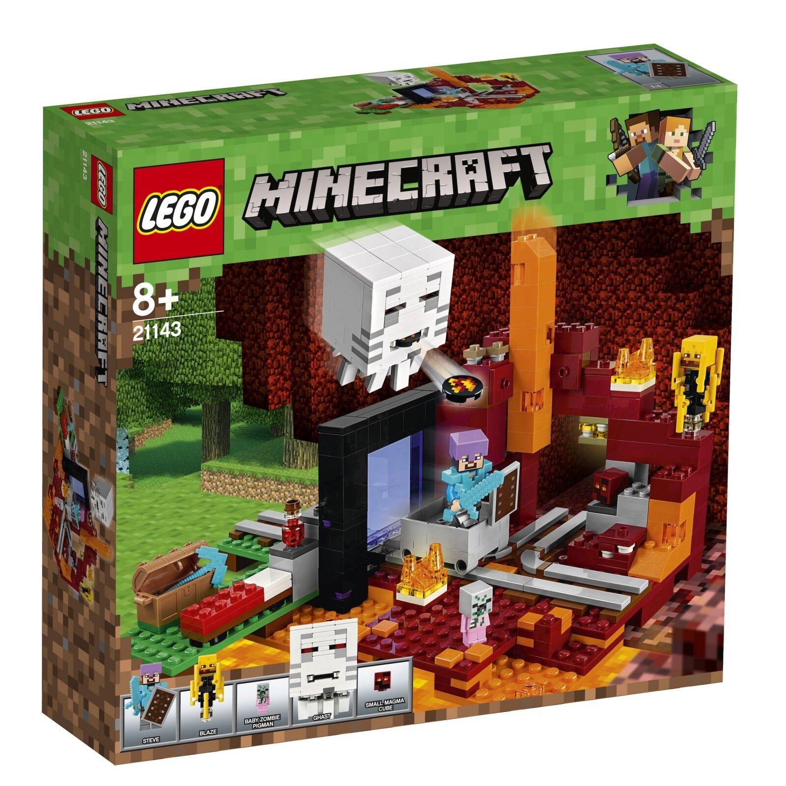 LEGO® Minecraft™ 21143 Netherportal NEU OVP_ The Nether Portal NEW MISB NRFB