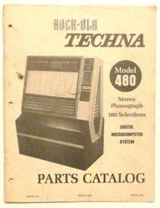 Rock-ola 480 Techna Advertising Brochure