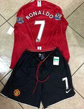 Manchester United Ronaldo Real Madrid Player Issue Shirt MatchUnworn Jersey