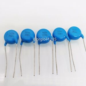 US-Stock-5pcs-Ceramic-Disc-Capacitors-1000pf-1nf-0-001uf-102-20000V-20KV