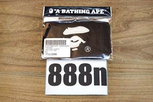 A Bathing Ape Bape Shark Black Face Mask US SELLER
