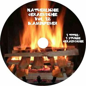Natuerliche-Geraeusche-Vol-12-Kaminfeuer-Audio-CD-Wellness-Musik-Entspannen-NEU