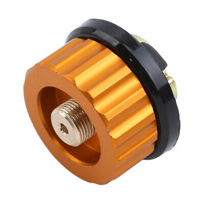 Camping Stove Butane Gas Metal Adapter Convert Fuel Canister UK 9K