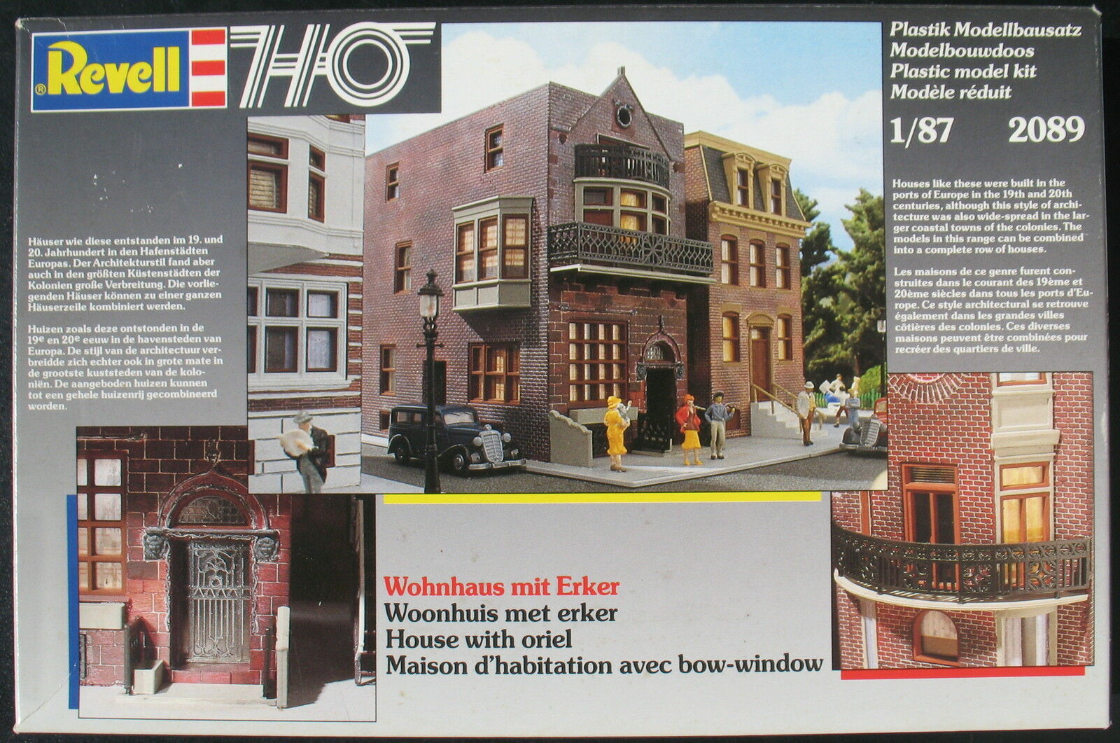 Revell 2089 - Wohnhaus mit Erker - H0 - - - 1 87 - Eisenbahn Modellbausatz Model Kit    Günstige  aba561