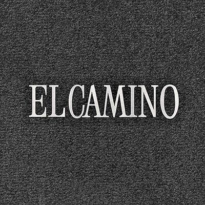 LLOYD Velourtex™ Black FLOOR MATS Silver embroidery 1976-87 Chevrolet El Camino