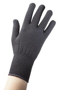 a0547abb93e248 Das Bild wird geladen Edz-Merino-Wolle-Thermische-Auskleidung-Handschuhe- Schwarz