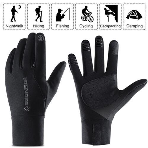 Thermal Touch Screen Warm Windproof Waterproof Anti-slip Full-finger Gloves UK