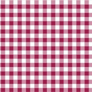 Cotton Classics Gingham 9mm 100/% Cotton Fabric Nursery Patchwork Sew Berry