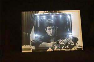 Al-Pacino-LED-Leucht-bild-Beleuchtung-Wohnzimmer