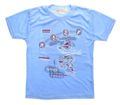 Jungen T-Shirt Kurzarm Sommer Kinder Shirt Aufdruck Skater Spaß Motiv 140-158
