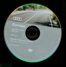 AUDI DVD EUROPA Deutschland Alpen Westeuropa Navi MMI 2G A4 A5 A6 4F A8 Q7 2017
