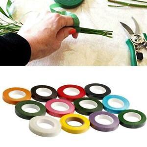 Durable-Rolls-Waterproof-Coloful-Florist-Stem-Elastic-Flower-12mm-Tape-Flor-B9I8