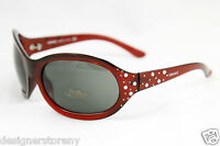 Versace 4063-b 388/71 Crystal Red W/ Grey-green Sunglasses 67-20-115