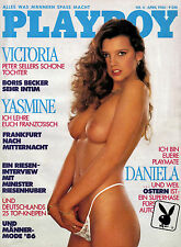 Playboy 04/1986    Victoria - Peter Sellers Tochter*   April/1986