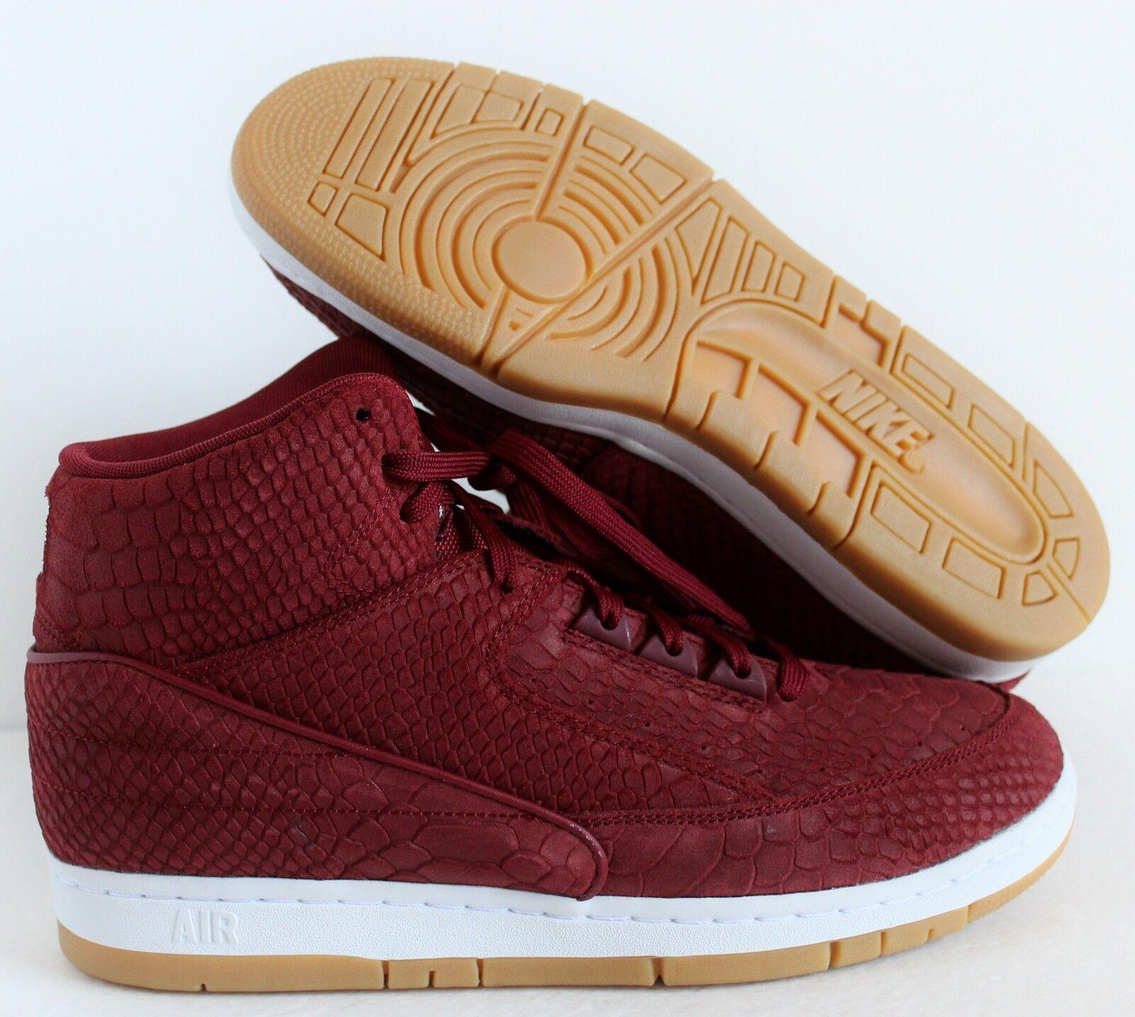 Nike Men Air Python Premium Team Red/White/Gum sz 9 [705066-601]