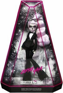 Monster High Ebay >> Monster High Zomby Gaga Zombie Lady Gaga Doll Exclusive Brand