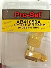 """LOW-LOSS MICROSEAL VALVE 1//4/"""" x 1//4/"""" Part# AB CPS ANTI-BLOW BACK"""