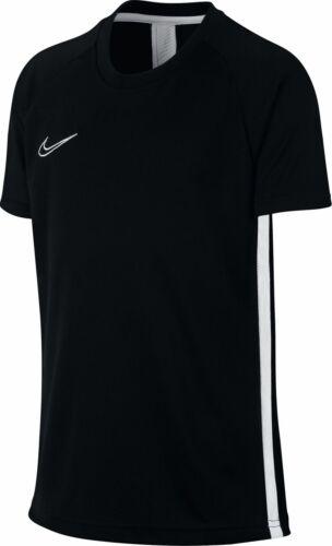 Nike Kinder Sportshirt Fussballshirt Freizeit-T-Shirt B DRY ACADEMY TEE schwarz