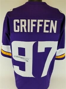 Details about Everson Griffen Signed Vikings Jersey (JSA COA) Minnesota All Pro Defensive End
