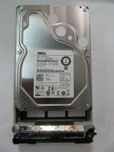 Dell PowerEdge 3C46W Toshiba MG03ACA100 1TB SATA 3.5 7200RPM Hard Drive in Tray