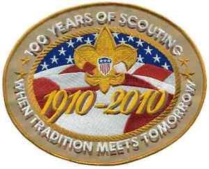 Boy-Cub-Eagle-Scout-2010-Centennial-Jamboree-Jacket-Patch-Badge-Merit-Award-BSA
