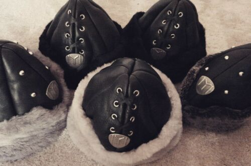 Real leather Adult /& Kids Sizes Fleece lined Ertugrul Kayi Hat