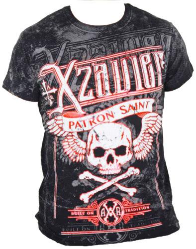 XZAVIER WIDOW MAKER T-SHIRT SKULL MMA UFC BIKER HARLEY ROCKER GOTHIC TRIBAL  X