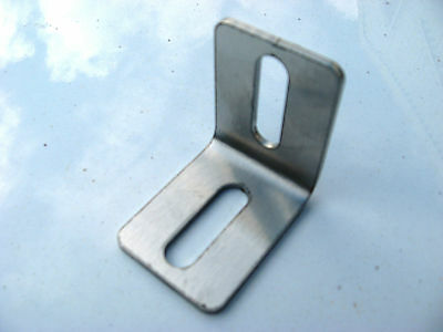 Stainless Steel 90 Degree Angle Bracket (set of 12) 40mm x 50mm 2.5mm thick