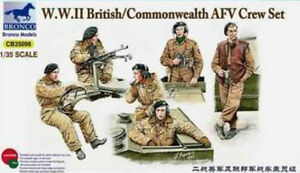Bronco-1-35-35098-WWII-British-Commonwealth-AFV-Crew-Set