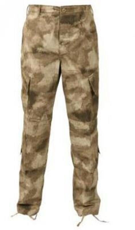 Propper Army Military ACU A-TACS Pants ATACS Pantalon Trousers Camouflage Small Short