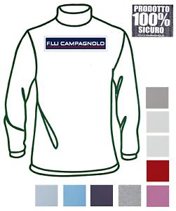 CAMPAGNOLO-Burlesco-ninos-4L989-100-Calido-algodon-Manga-larga-medio-cuello