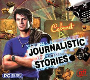 Journalistic Stories  a Hidden Object PC Detective Story Vista 7 8 10  Brand New