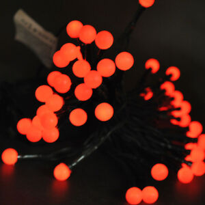 image is loading 20 red holly berry balls battery waterproof led